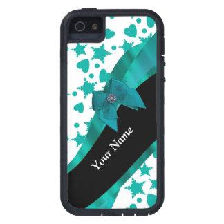 Aquamarines grünes hübsches spotty gemustertes hülle fürs iPhone 5
