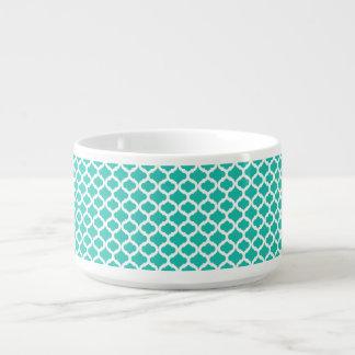 Aquamarines marokkanisches Muster Schüssel