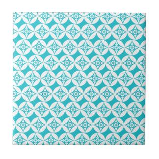 Aquamarines Muster Fliese