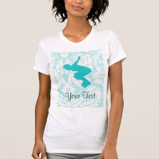 Aquamarines Rollerblading T-Shirt