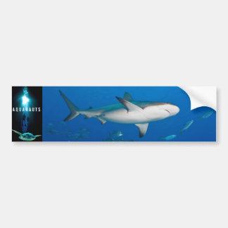 Aquanauts-Logo-Autoaufkleber Autoaufkleber