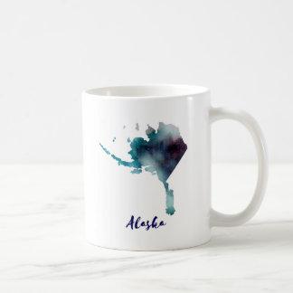 Aquarell Alaska Vereinigte Staaten Kaffeetasse