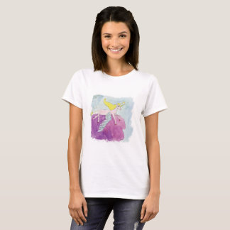 Aquarell Alicorn Pony Winged Pferd T-Shirt