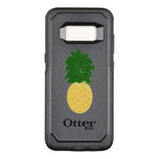 Aquarell-Ananas-Entwurf OtterBox Commuter Samsung Galaxy S8 Hülle