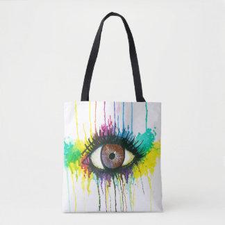 Aquarell-Auge Tasche