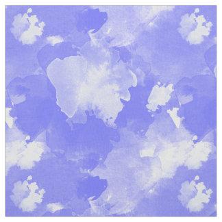 Aquarell beflecktes violettes Muster Stoff