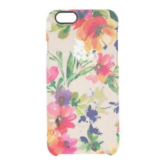 Aquarell BlumeniPhone 6 Fall, iPhone 6S Fall Durchsichtige iPhone 6/6S Hülle