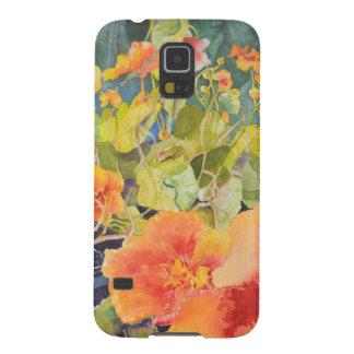 Aquarell BlumenSamsung rufen Fall an Galaxy S5 Hülle