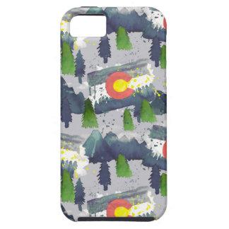 Aquarell-Colorado-Grau Schutzhülle Fürs iPhone 5