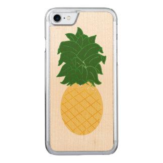 Aquarell-Digital-Ananas-Entwurf Carved iPhone 8/7 Hülle