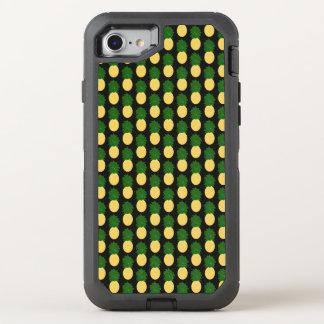 Aquarell-Digital-Ananas-Entwurf OtterBox Defender iPhone 8/7 Hülle
