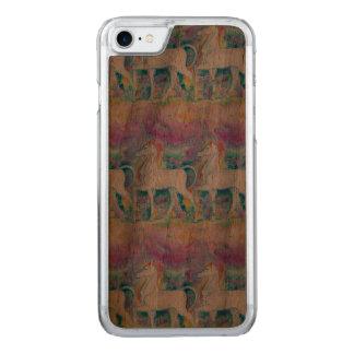 Aquarell-Einhörner Carved iPhone 8/7 Hülle