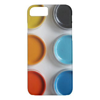 Aquarell-Farben iPhone 8/7 Hülle