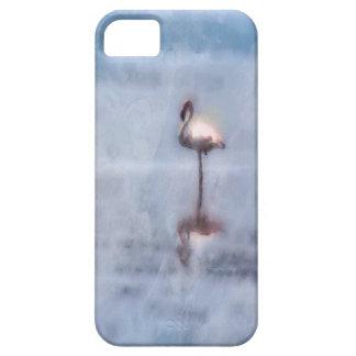 Aquarell-Flamingo iPhone 5 Schutzhülle