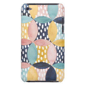Aquarell-geometrische Kreise Barely There iPod Case
