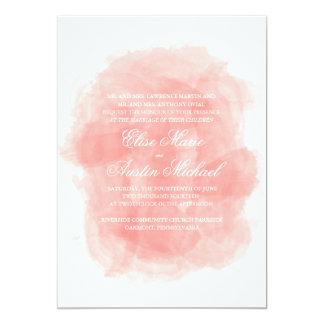 Aquarell-Hochzeits-Einladung 12,7 X 17,8 Cm Einladungskarte