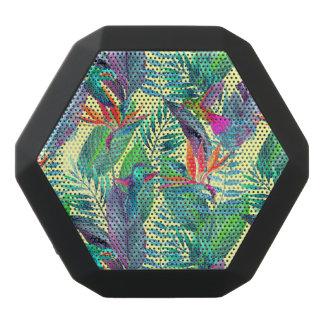 Aquarell Humminbirds im Dschungel Schwarze Bluetooth Lautsprecher