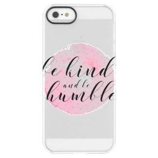 Aquarell ist nett und ist bescheidenes Zitat Permafrost® iPhone SE/5/5s Hülle