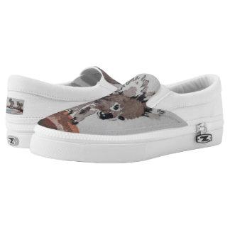 Aquarell-Koala-Schuhe Slip-On Sneaker