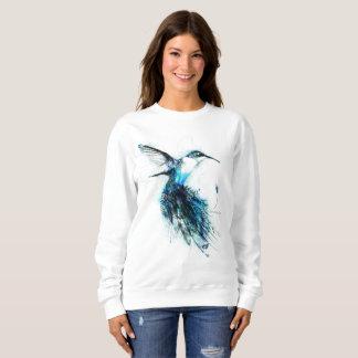 Aquarell-Kolibri, Feder-Vogel, Sweatshirt