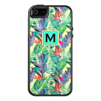Aquarell-Kolibris | addieren Ihre Initiale OtterBox iPhone 5/5s/SE Hülle