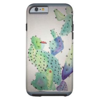 Aquarell-Kunst Tough iPhone 6 Hülle