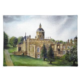 Aquarell-Malerei Schloss-Howards North Yorkshire Tischset