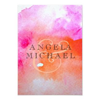 Aquarell-Motiv 12,7 X 17,8 Cm Einladungskarte