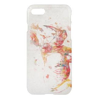 Aquarell-Nashorn-Malen iPhone 8/7 Hülle