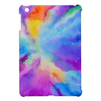 Aquarell-Nebelfleck iPad Mini Hülle