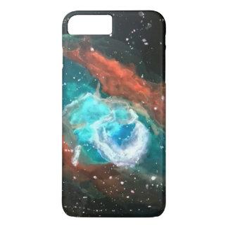 Aquarell-Nebelfleck iPhone 8 Plus/7 Plus Hülle