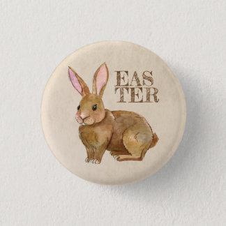 Aquarell-Osterhasen-Kaninchen Runder Button 2,5 Cm