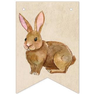 Aquarell-Osterhasen-Kaninchen Wimpelketten