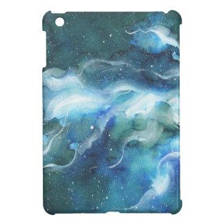 Aquarell-Raum-Nebelfleck-Galaxie iPad Mini Hülle