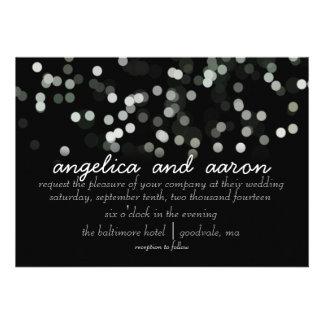 Aquarell-Schein-Hochzeits-Einladungen