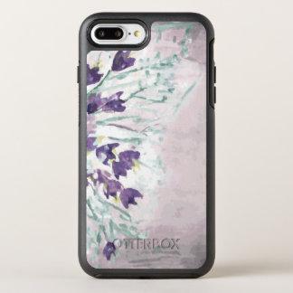 Aquarell-Schmutzhintergrund mit Glocken OtterBox Symmetry iPhone 8 Plus/7 Plus Hülle
