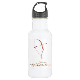 Aquarell-Schütze-Bogen u. Pfeil Edelstahlflasche