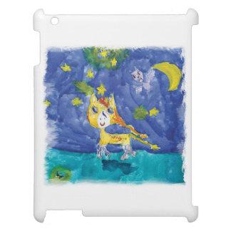 Aquarell-sternenklare Nacht Pegasus mit Schläger iPad Hülle