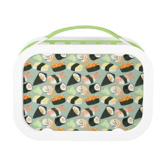 Aquarell-Sushi-Muster Brotdose