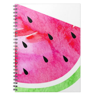 Aquarell-Wassermelone Notizblock