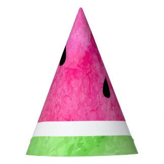 Aquarell-Wassermelone Partyhütchen