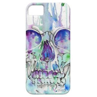 Aquarella Skull iPhone 5 Hülle