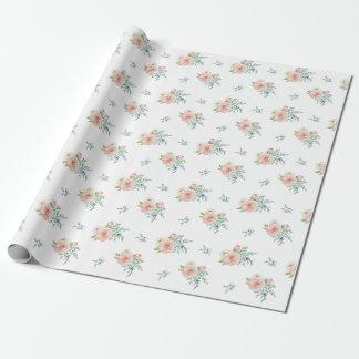 AquarellblumenPackpapier Geschenkpapier