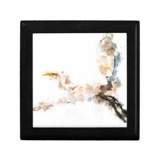 Aquarellentwurf, Kranvogelfliegen Erinnerungskiste