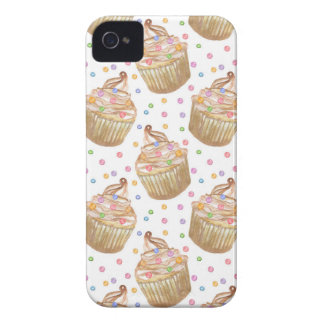 Aquarellkleine kuchen iPhone 4 Case-Mate hülle