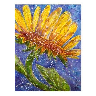 Aquarellmalereien Postkarte
