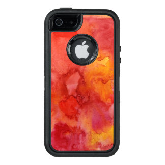Aquarellmalereihintergrund OtterBox iPhone 5/5s/SE Hülle