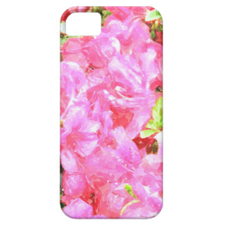 Aquarellpinkfarbene Hydrangeas iPhone 6 Abdeckung iPhone 5 Hülle