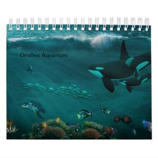 Aquarium Abreißkalender