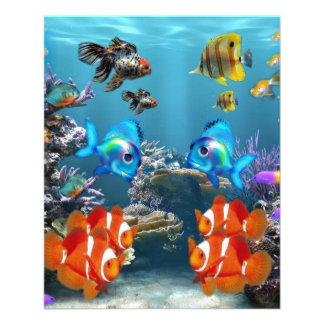 Aquarium-Art 11,4 X 14,2 Cm Flyer